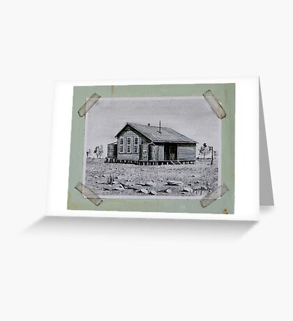 Lightning Ridge Central School Centenary  Greeting Card