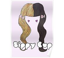 Melanie Martinez Sippy Cup Hair Design  Poster