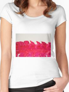 A section trough different tongue cells under the microscope. Women's Fitted Scoop T-Shirt