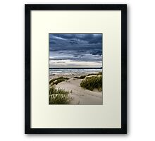 Sand, Sea and Sky Framed Print