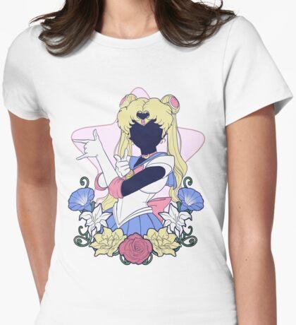 Sailor De La Lune Womens Fitted T-Shirt