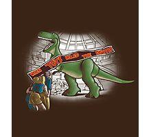 Jurassic Toy Photographic Print