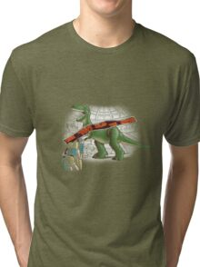 Jurassic Toy Tri-blend T-Shirt