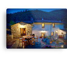 Tuscany Retreat Metal Print