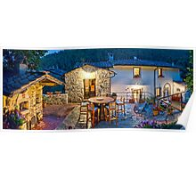 Tuscany Retreat Poster