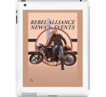 Cafe racing jedi iPad Case/Skin