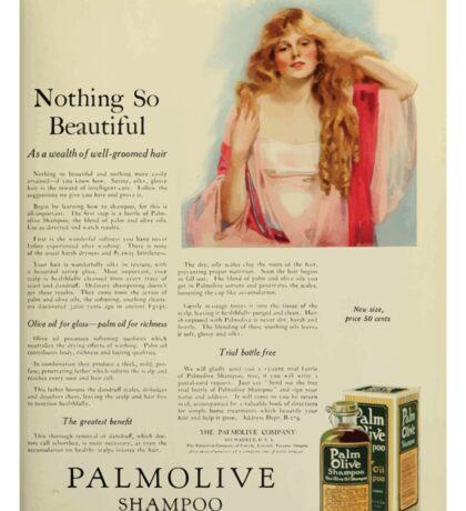 Advertisements Photoplay Magazine January through June 1922 0583 Palmolive Shampoo Sticker