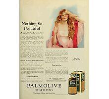 Advertisements Photoplay Magazine January through June 1922 0583 Palmolive Shampoo Photographic Print