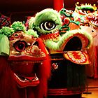 Chinese Lions  by Deb Gibbons