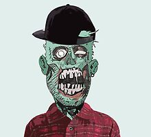 Hipster Zombie by ROBYN-S