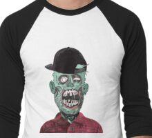 Hipster Zombie Men's Baseball ¾ T-Shirt