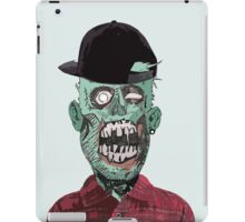 Hipster Zombie iPad Case/Skin