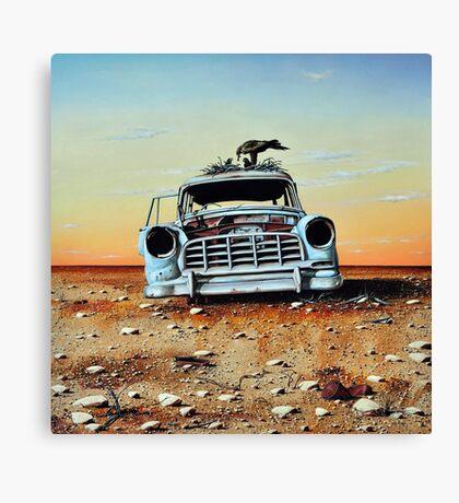 Old Holdens Never Die II Canvas Print