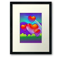 Beauty of the rainbow  Framed Print