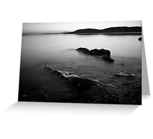 Tralee Bay, Monochrome Greeting Card