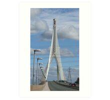 Bridge worthy of a name Art Print