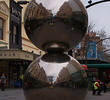 Rundle Mall Balls by Rochelle Buckley
