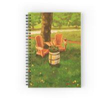 Muskoka Chairs Spiral Notebook
