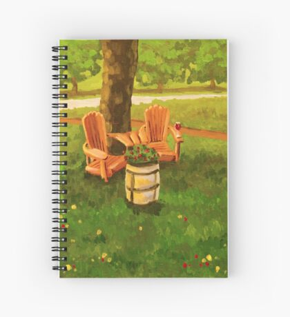 Muskoka Chairs Spiral Notebook
