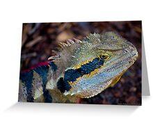 Dragon!.. lizard Greeting Card
