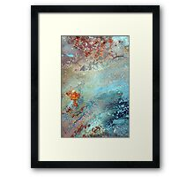astral burn~lightly Framed Print