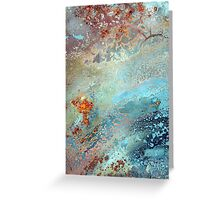 astral burn~lightly Greeting Card