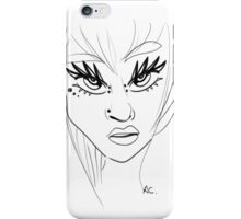 Jaded Girl iPhone Case/Skin