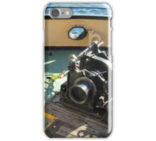 Anchor Winch etc., aboard Steam Tug 'Yelta' Port Adelaide. iPhone Case/Skin