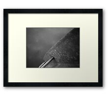 Floating Bridge 8 Framed Print