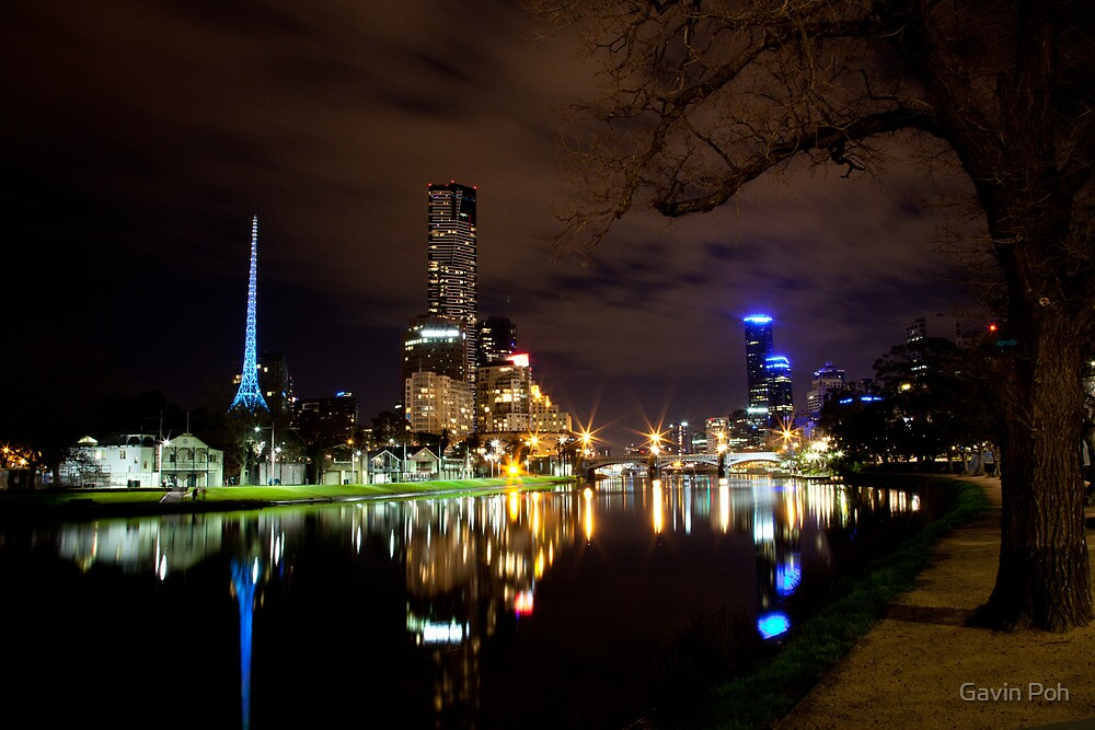 Melbourne By Night - Series by Gavin Poh