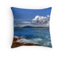 Fingal Island Throw Pillow