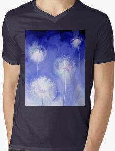 pretty stylized dandelion illustration Mens V-Neck T-Shirt