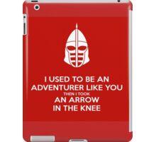 Skyrim - I used to be an adventurer like you. iPad Case/Skin
