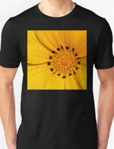 Floral Tribute in Yellow Unisex T-Shirt