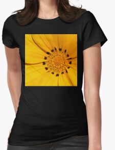 Floral Tribute in Yellow T-Shirt