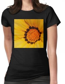Floral Tribute Womens Fitted T-Shirt