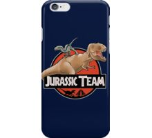 Jurassic Team iPhone Case/Skin