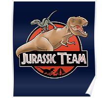 Jurassic Team Poster