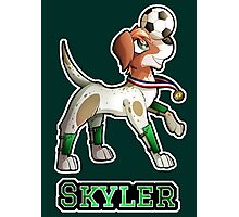 Skyler - Soccer Pointer Photographic Print