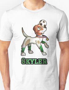 Skyler - Soccer Pointer Unisex T-Shirt