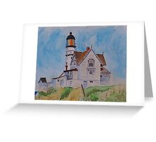 After Hopper Greeting Card