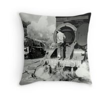 "The Mighty ""9F"" Throw Pillow"