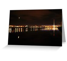 Bolte and the moon Greeting Card