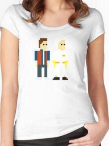 Back to the Pixel Women's Fitted Scoop T-Shirt