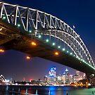 Springtime Harbour Bridge by baddoggy