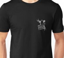 tattoo logo small white Unisex T-Shirt