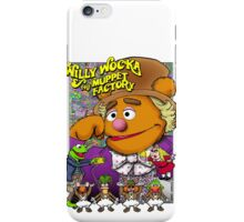 Willy Wocka and the Muppet Factory iPhone Case/Skin