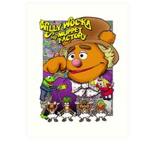 Willy Wocka and the Muppet Factory Art Print