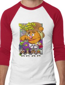 Willy Wocka and the Muppet Factory Men's Baseball ¾ T-Shirt