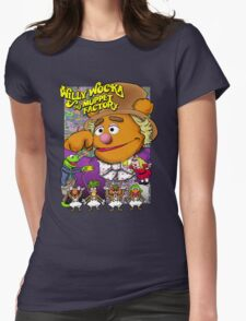 Willy Wocka and the Muppet Factory Womens Fitted T-Shirt